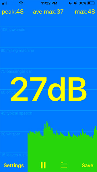 dB Meter Apple App