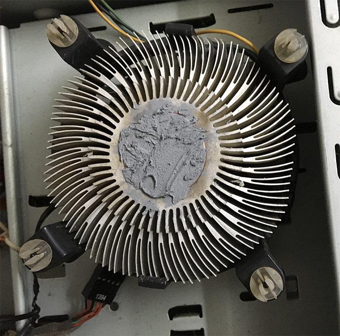 CPU Heat Sink compound