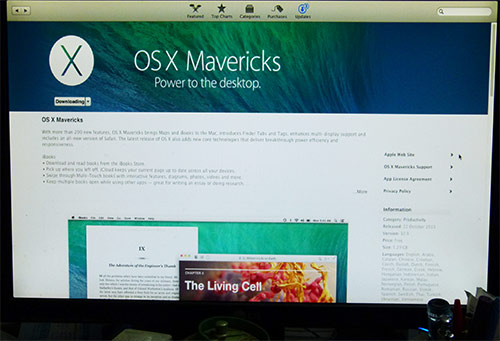 Mavericks - New Apple OS