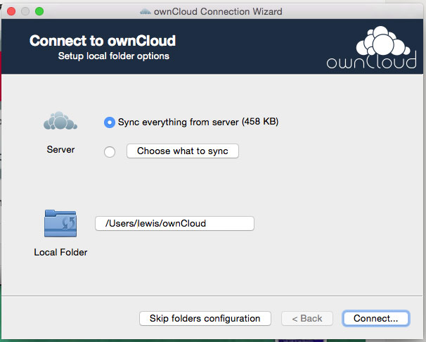 OwnCloud has Mac OS App