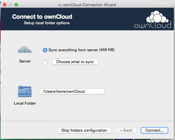 OwnCloud has Mac OS App